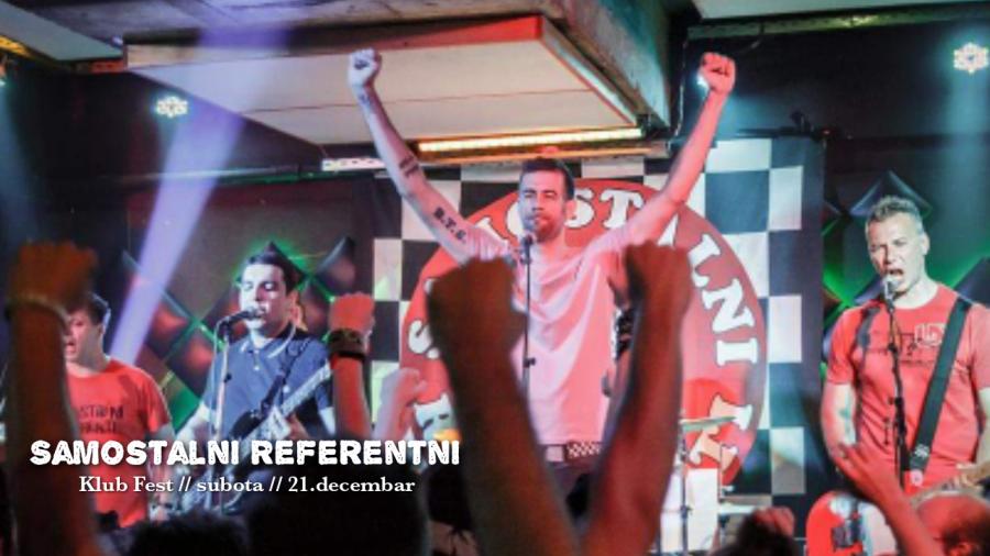 Klub Fest u Zemunu : Nastupaju Samostalni Referenti
