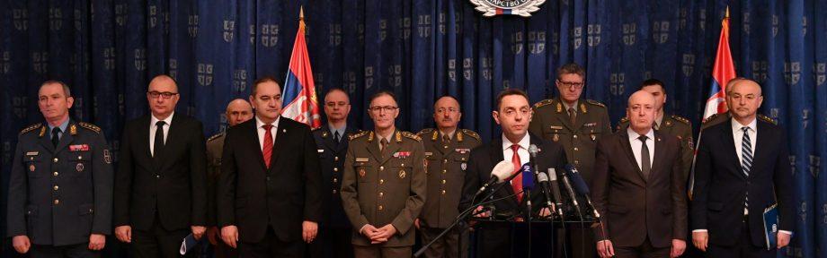 Konferencija za medije ministra Vulina: Posledica iznošenja informacija o Krušiku su nekoliko otkazanih ugovora
