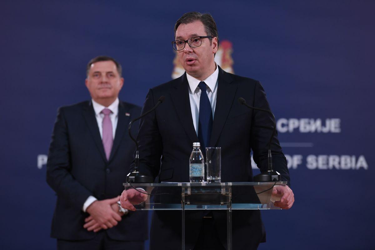Konferencija za medije Vućića i Dodika: Ambasador Hido Biščević nova hrvatska provokacija!?