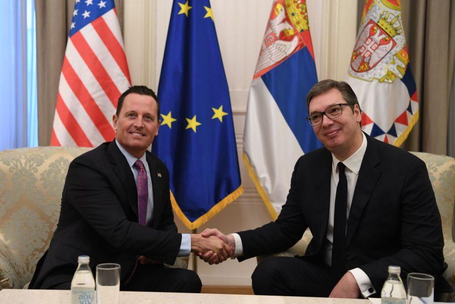 Grenel kod Vučića: Ako ne bude dogovora sa Prištinom – SAD se povlače!