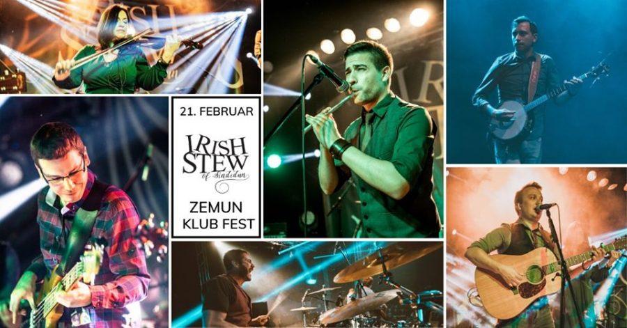 Klub Fest: Nastupaju Irish Stew i najavljuju prvi koncert u Nemačkoj!