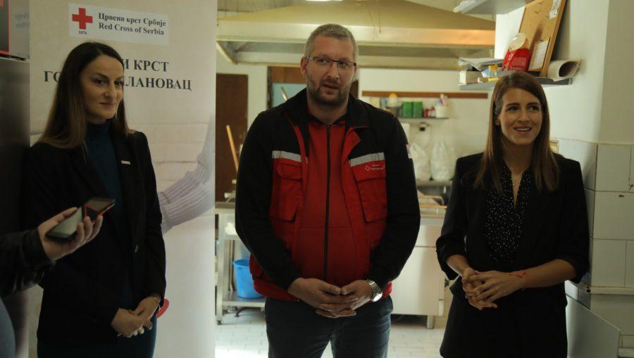 Humanitarna akcija: Lidl Srbija donirao rashladne uređaje kuhinjama Crvenog krsta
