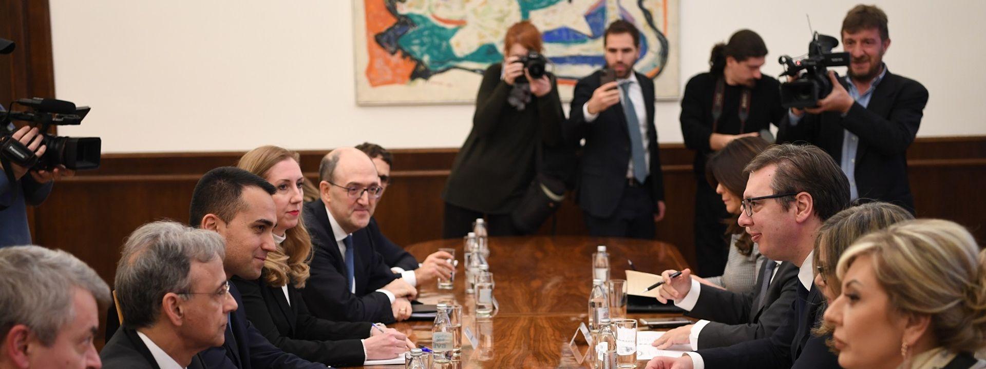 Italija: Ministar spoljnih poslova Italije Luiđi de Majo gost Beograda