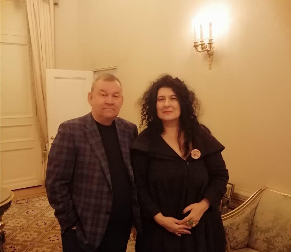 Upravnica Narodnog pozorišta Ivana Vujić u Moskvi – sa direktorima Boljšoj teatra i Teatra Nacija