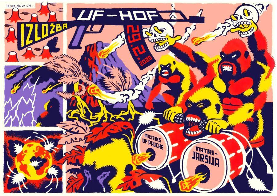 Izložba u Matrijaršiji: UF-HOF izložba Igora Hofbauera