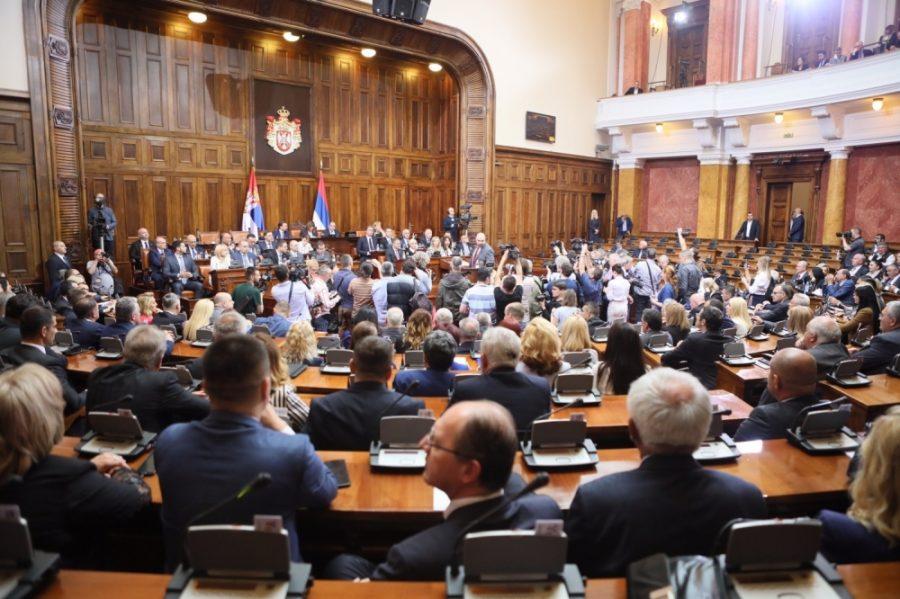 Skupština Srbije: Rasprava o Zakonu o katastru