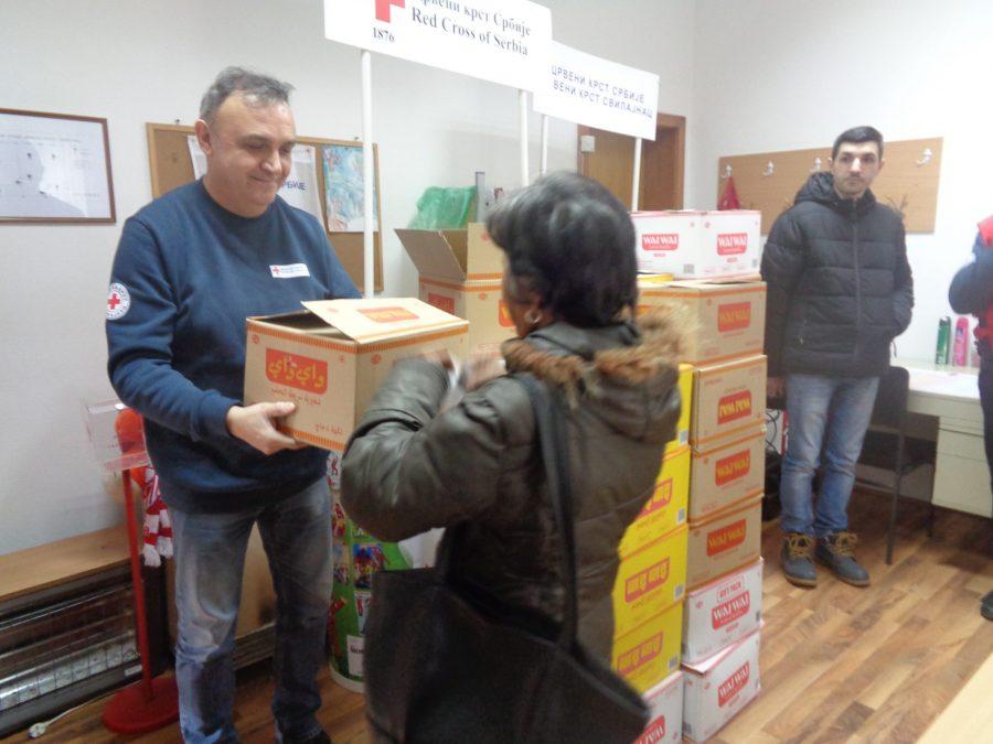 Humanitarne akcije: CG Foods Europe iz Rume -donator Crvenog krsta Srbije