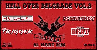Klub Garaža: Drugo izdanje heavy festivala Hell Over Belgrade