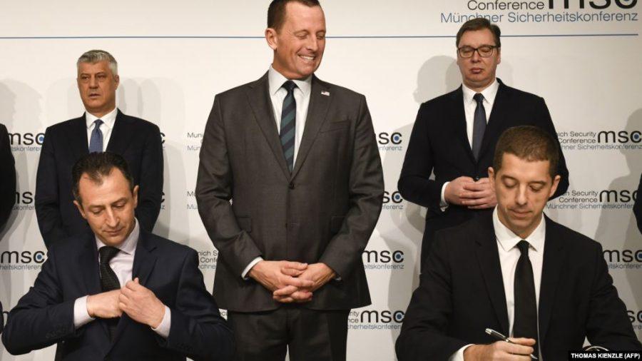 POGLED IZ AUSTRIJE: Vučić,Tači i Grenel ruše Kurtija!?
