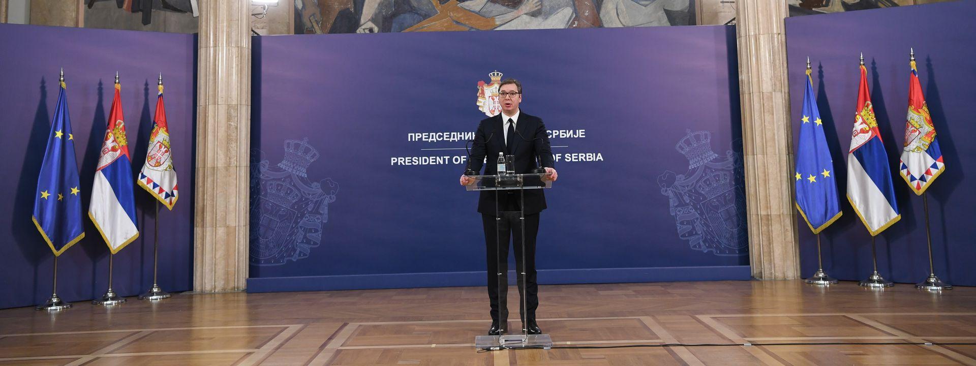 Vučić posle povratka iz SAD: Srbija neće naseljavati migrante