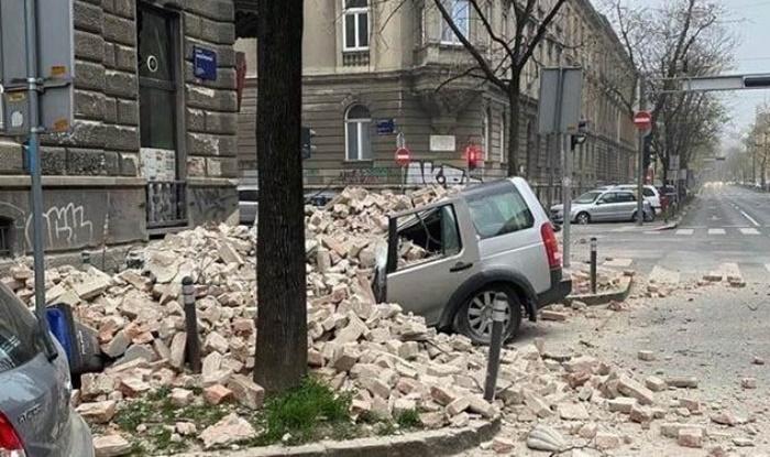ZAGREB: Snažan zemljotres