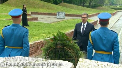 VUČIĆ I DODIK: Sečanje na žrtve Jasenovca