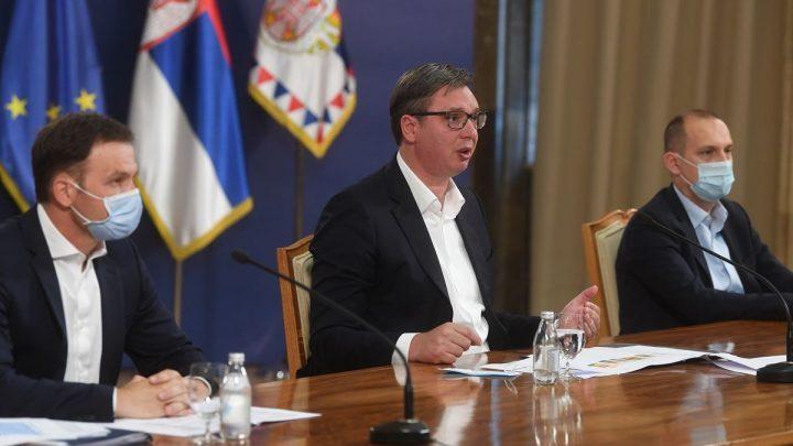 Vučić: Policijski čas od petka do ponedeljka