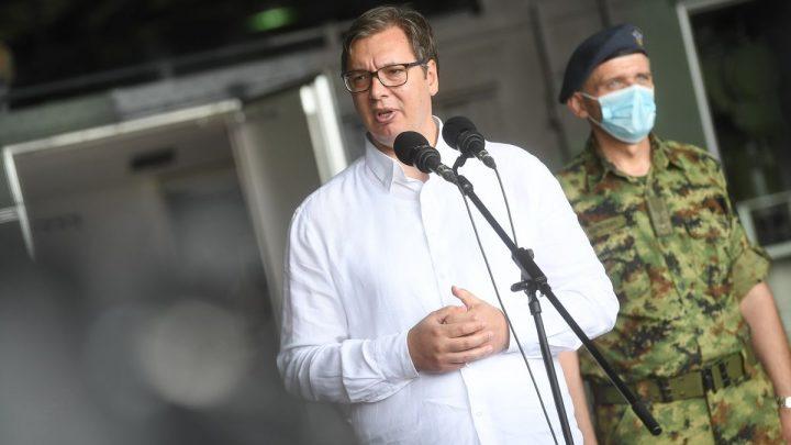 Vučić u Batajnici: Imamo jaku vojsku