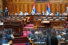 Skupština konstituisana u poslednjem trenutku