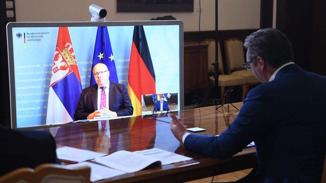 Nemačka gura Srbiju ka EU