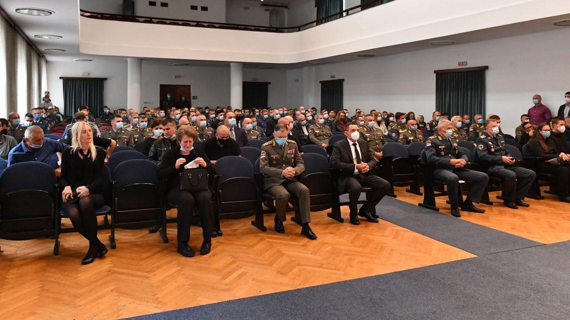 Komemoracija poginulim pilotima majoru Krsniku i kapetanu prve klase Vasiljeviću