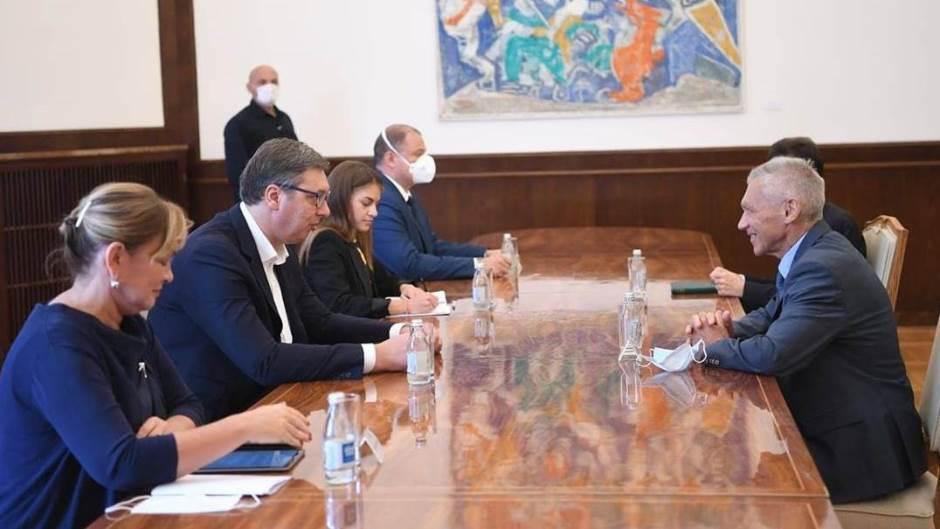 Vučić i Harčenko – najvažniji su mir i stabilnost