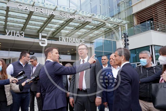 Vučić: U narednih nekoliko dana mandatar