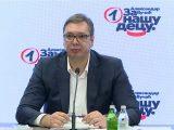Vučić: Vanredni parlamentarni izbori najkasnije 3. aprila 2022.