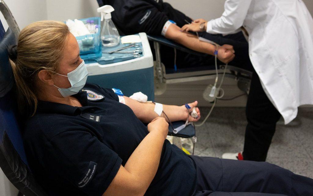 Запослени у Управи за извршење кривичних санкција донирали крв