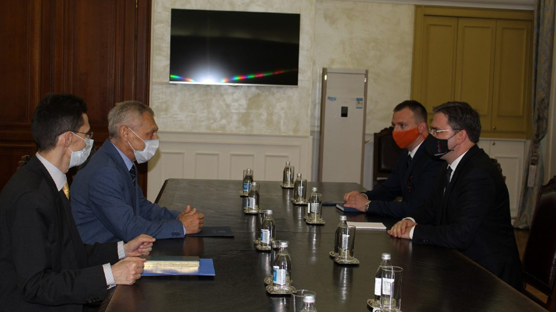 Састанак Селаковића и амбасадора Руске Федерације