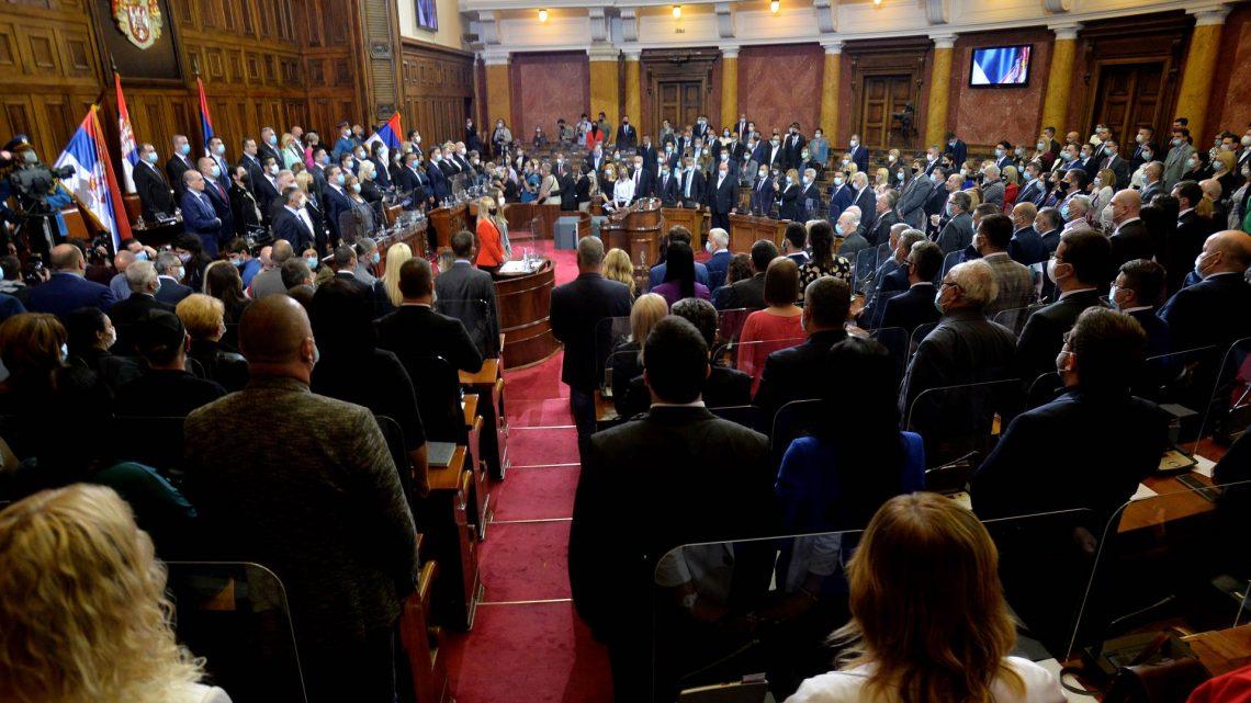 Poslanici izglasali novu Vladu Srbije, premijerka i ministri položili zakletvu