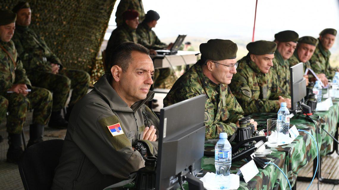 "Ministar Vulin: Vežba ""Sadejstvo 2020"" prilika da se pokaže koliko je vojska napredovala"