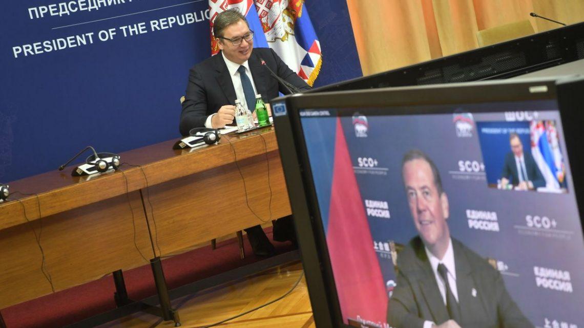 Састанак Александра Вучића са замеником председника Савета безбедности Руске Федерације