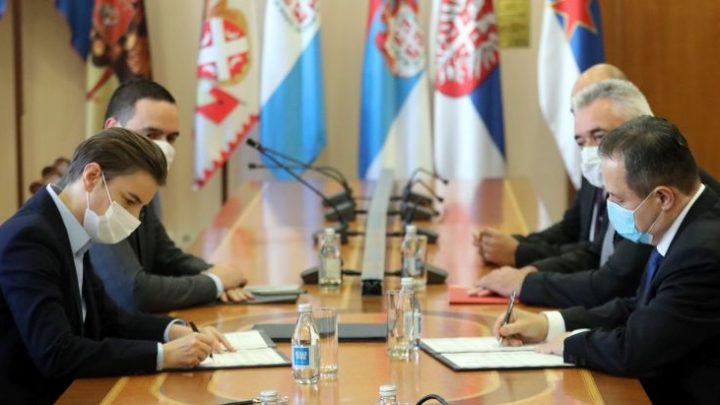 Брнабић мења Дачића до избора новог министра