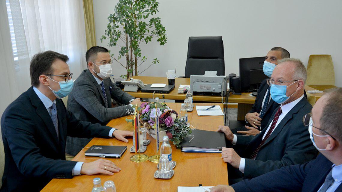 Састанак Петковића са шефом Мисије ОЕБС на КиМ
