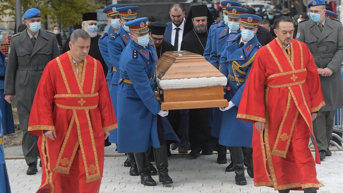 Vojska Srbije ispraća patrijarha Irineja