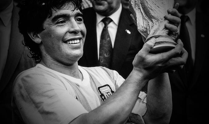 Umro je Maradona