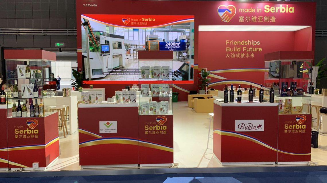 Proizvodi iz Srbije na 3. međunarodnom uvoznom sajmu u Kini