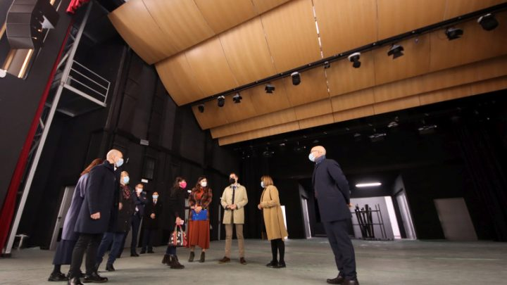 Gojković posetila prvu koncertnu dvoranu u Novom Sadu