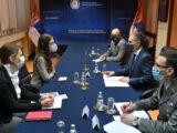 Stefanović se sastao sa stalnom predstavnicom Programa UN za razvoj Fransin Pikap
