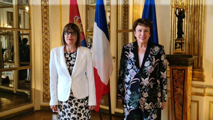 Гојковић се састала са министарком културе Француске