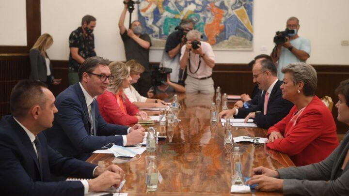 Sastanak sa Komesarkom Evropske unije za unutrašnje poslove i migracije
