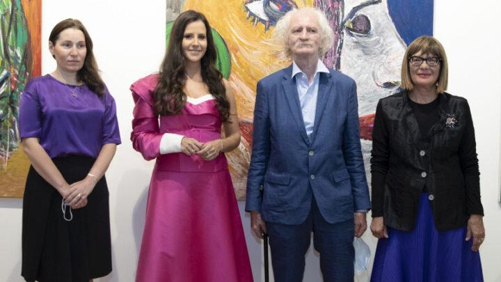 Gojković otvorila izložbu Cileta Marinkovića u Parizu