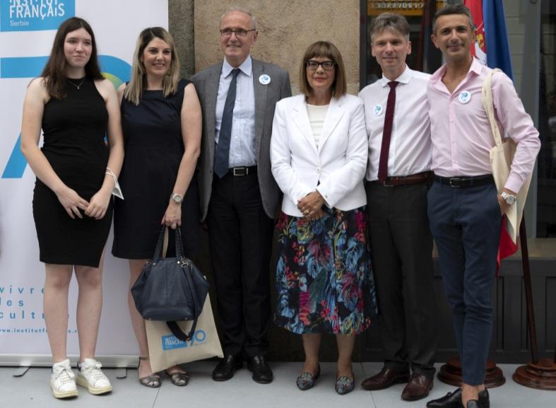 Obeležena 70-godišnjica Francuskog instituta u Srbiji
