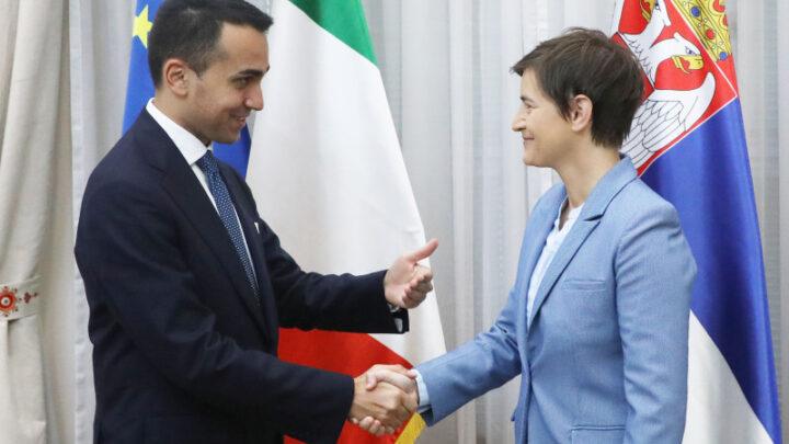Podrška Italije Srbiji u procesu evrointegracija na svim nivoima