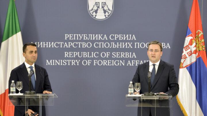 Zahvalnost Italiji na podršci evropskom putu Srbije