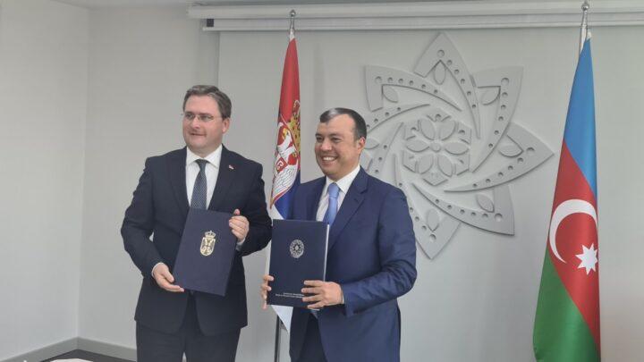 Економску сарадњу Србије и Азербејџана подићи на виши ниво