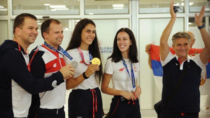Удовичић дочекао прве освајаче медаља у Токију