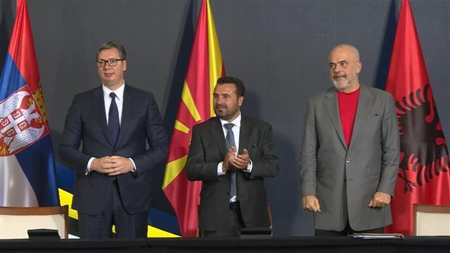 Srbija, Severna Makedonija i Albanija potpisale tri dokumenta za bolju regionalnu saradnju