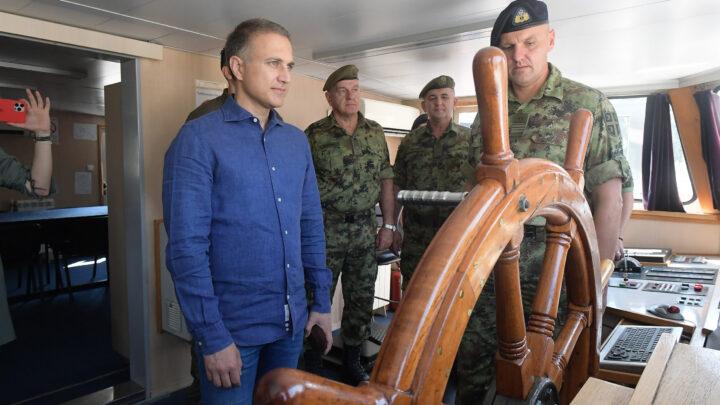 Jačanje Rečne flotile novim investicijama