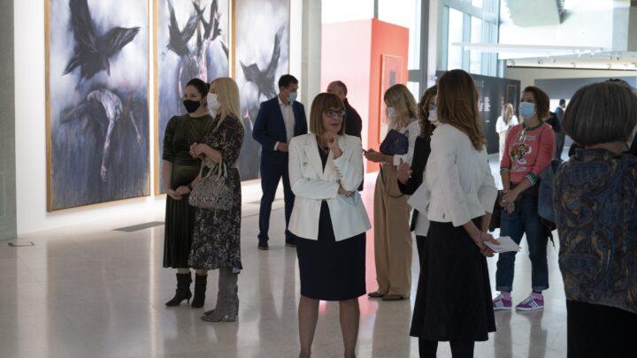 Ретроспективна изложба Владимира Величковића у Музеју савремене уметности