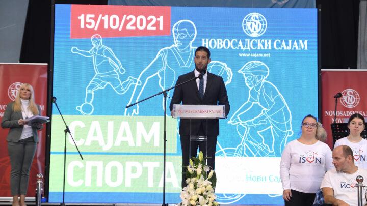 Отворен Сајам спорта у Новом Саду