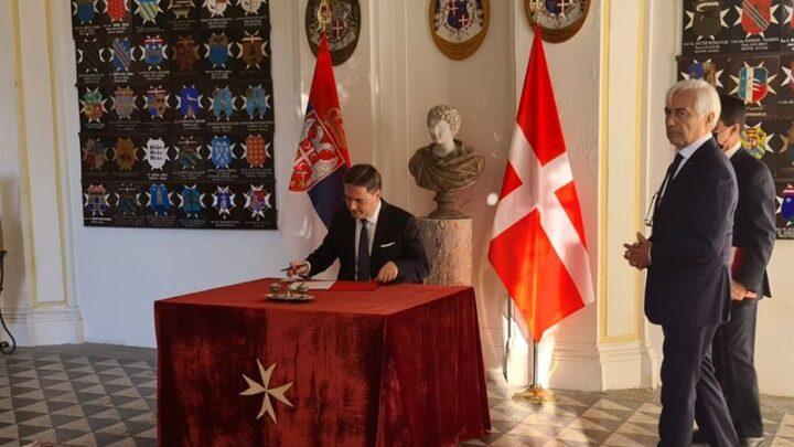 Интензивирати односе Србије и Сувереног Малтешког Реда