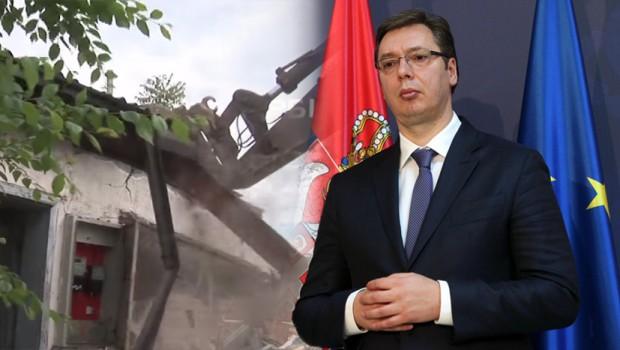 Vučić: vrh Beograda odgovoran za rušenje Hercegovačke